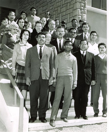 Photo taken at the Arab Baptist Theological Seminary in the 1960s