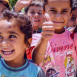 WELCOMING DISPLACED CHILDREN IN HIS NAME